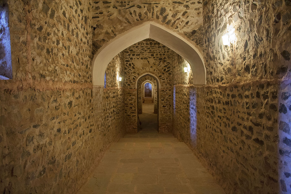 Secret tunnel at the Amer Fort, Jaipur, Rajasthan Photographer: Anshika Varma
